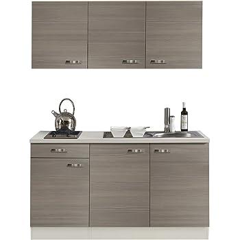 Amazon.de: Singleküche TOLEDO | Miniküche mit Glaskeramik ...