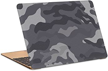 "Postergully 15.6"" Laptop Skin - Camouflage Grey and Black"