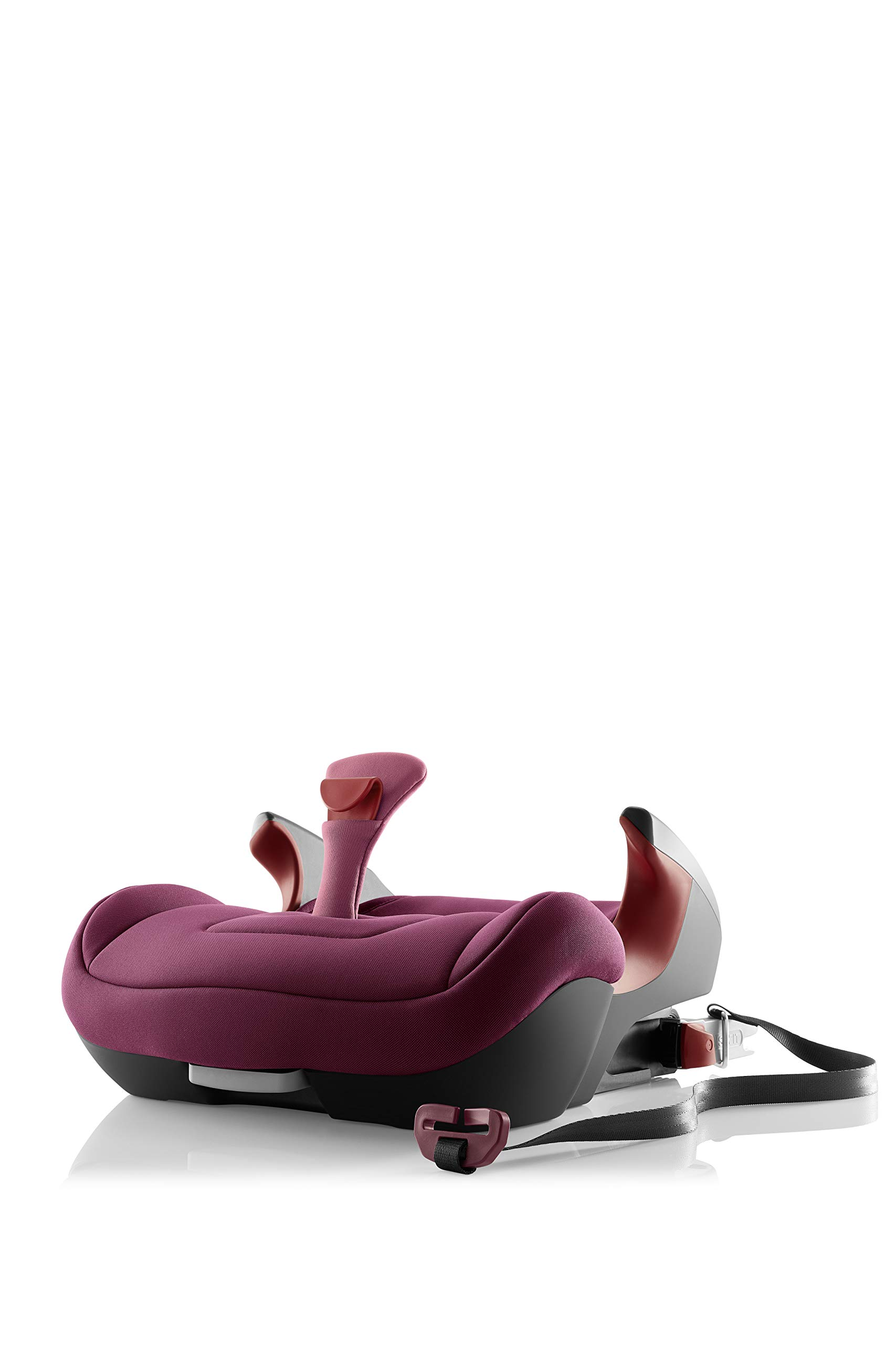 Britax Römer KIDFIX² S Group 2-3 (15-36kg) Car Seat - Wine Rose  Advanced side impact protection - sict offers superior protection to your child in the event of a side collision. reducing impact forces by minimising the distance between the car and the car seat. Secure guard - helps to protect your child's delicate abdominal area by adding an extra - a 4th - contact point to the 3-point seat belt. High back booster - protects your child in 3 ways: provides head to hip protection; belt guides provide correct positioning of the seat belt and the padded headrest provides safety and comfort. 5