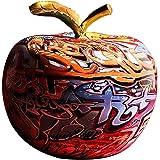 Fenteer Moderne Dessin Coloré Apple Résine Sculpture Creative Graffiti Simulation Apple Art Statue Décor À La Maison Cadeau d