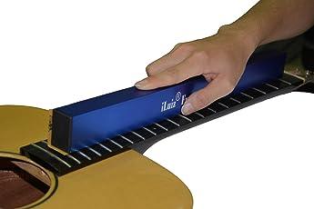 Iluiz chitarra fret livellamento abrasivi fascio basso livellatore livellamento file Tool Liutaio strumento 400mm