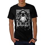 Wellcoda Abstract Bug Fly Mens T-Shirt, Creepy Graphic Design Printed Tee