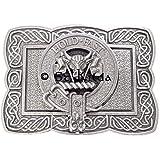 MacLeod Clan Crest Kilt Belt Buckle