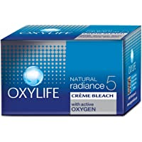 Oxylife Natural Radiance 5 Creme Bleach With Active Oxygen, 9 Gm