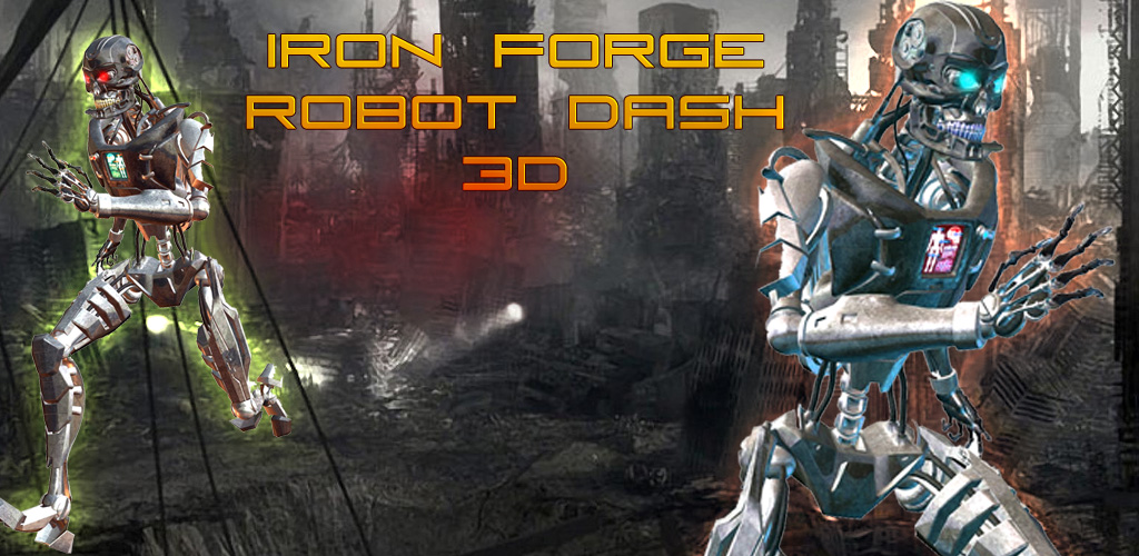 Image of IRON DRONE ROBOT DASH 3D
