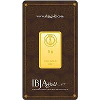 IBJA Gold 24k (999) 5 gm Yellow Gold Bar