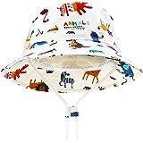 DRESHOW Unisex Bambino Secchio Regolabile Protezione Del Sole Cappello per Neonata Ragazza Ragazzo Neonato Bambini Bambino Pi