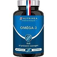 Omega 3 et Krill d'Antarctique   Cognition, Santé cardiaque et Système immunitaire   Huile de poissons sauvages pure…