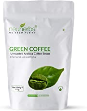 Neuherbs Organic Green Coffee Beans for weight Loss 200g