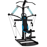 Capital Sports Hawser - Station Fitness pour Entrainement Complet : Cable Cross, Curls, Aviron, étirements, Abduction…