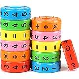 Kesote 2 Stück Lernspielzeug Mathematik Rechenrolle Einschulung Mathe Lernen Rechnen Spielzeug Schulanfang Schulkind