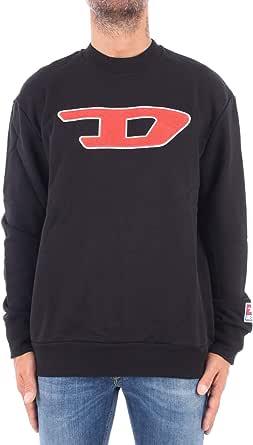 Diesel Men's S-Crew-Division-d Sweat-Shirt Sports Hoodie