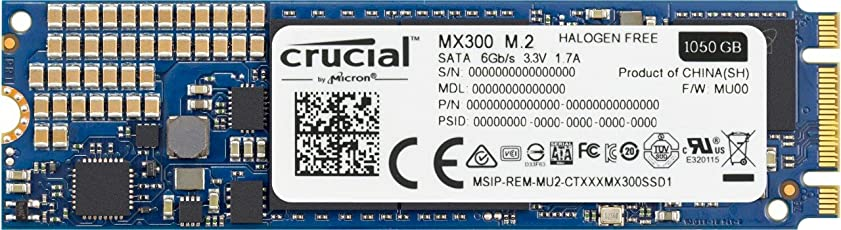 Crucial MX300 CT1050MX300SSD4 1 TB Internes SSD (3D NAND, SATA, M.2 (2280))