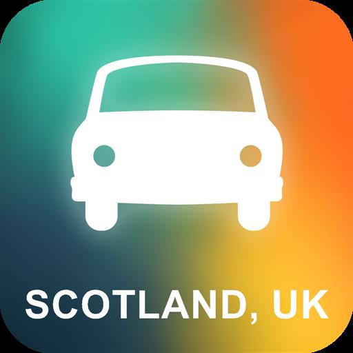 Escocia, Reino Unido GPS