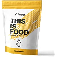 YFood Pulver Banane   Laktose- und glutenfreier Nahrungsersatz   17 Mahlzeiten, 26 Vitamine & Mineralstoffe…
