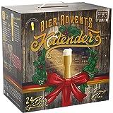 KALEA Bier-Adventskalender, 24 x 0,33 L Bierspezialitäten von Privatbrauereien aus Deutschland und 1 Verkostungsglas, neue Be