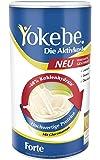 Yokebe Forte Die Diätshake (zur Gewichtsabnahme, 40% weniger Kohlenhydrate-glutenfrei, laktosefrei und vegetarisch -Kalorienarmer Diät-Drink mit Proteinen) 500 g = 10 Portionen
