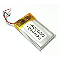 Invento 3.7V 240mAh Polymer Li-Ion Battery Lipo For Gps Pda Dvd Ipod Tablet Diy Projects