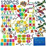 nicknack Surtido de 120 juguetes para rellenar piñatas y bolsas de regalo de fiestas de cumpleaños infantiles o para el coleg