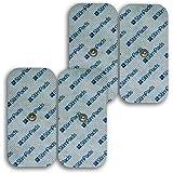 Stimpads per Compex* 4 elettrodi Alte Prestazioni da 50x100mm Singolo Snap. Compatibile con Compex* al 100%. Risparmia Fino al 50%!