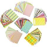 DECARETA 120 pegatinas de fotos coloridas para marcos de fotos con bordes de fotos, pegatinas de mini película para FujiFilm