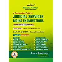 Compendious Guide to Judicial Service Mains Examination-Volume-III- Samarth Agrawal Books
