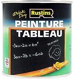 Rustins (Blackboard Paint) BLAB250 - Peinture sur tableau - Noir - séchage rapide 250ml