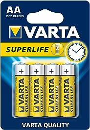 VARTA Superlife 4 AA Çinko Karbon Pil