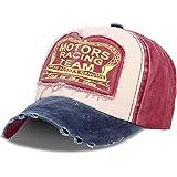 Cappellino con Visiera | Berretto da Baseball | Uomo | Donna | Cotone | Jeans | Slavato | Taglia Unica per Adulti | Vintage