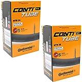 "Continental 26"" x 1.75-2.5 Mountain Bike Inner Tubes with 42mm Presta Valve (Pair)"