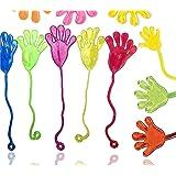 12 x kladdig barn färgglada Glibberhand gräddfärgade – Giveaway – pojkar – flickor barns födelsedag