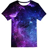 Kids4ever Boys Girls T-Shirts 3D Printed Short Sleeve Tee Shirt Kids Casual Tops for 6-16Years