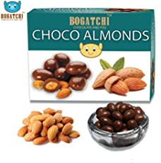 Bogatchi Chocolate Coated Almonds, 200g