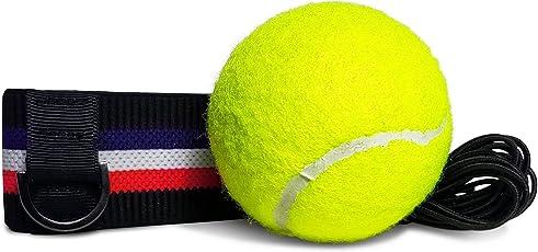 Kellago Profi Fight-Ball-Reflex Kampfball mit Stirnband für Boxentraining [ Speziell angefertigtes Trainingsgerät für Leistungssteigerung im Boxen! ]
