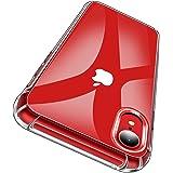 Garegce Cover iPhone XR + [2 Packs Vetro Temperato] Trasparente Silicone in TPU Morbido Sottile, Antiurto AntiGraffio Protettiva Case Custodia per iPhone XR- 6.1 Pollici (Trasparente)