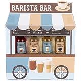 Modern Gourmet Foods, Sciroppi Aromatizzati per Caffé in Confezione Regalo Food Truck Barista. Gusti: Menta, Vaniglia…
