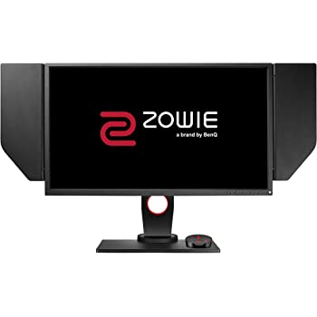 BenQ ZOWIE XL2546 24 Inch 240Hz e-Sports Gaming Monitor with DyAc, Black eQualizer, Height Adjustable Stand, S Switch, Shield, Black eQualizer, Dark Grey