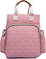 The Mom Store Diaper Bag for Mothers,(Pink)