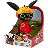 Bing - Personaggio 20 cm con Skateboard a retroricarica e removibile, indossa casco e protezioni e puo' dondolare e oscillare