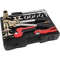 strumento crimpatrice con 150 pezzi ghiera per crimpare e crimpare manicotti Pinze da pesca in acciaio INOX Casinlog