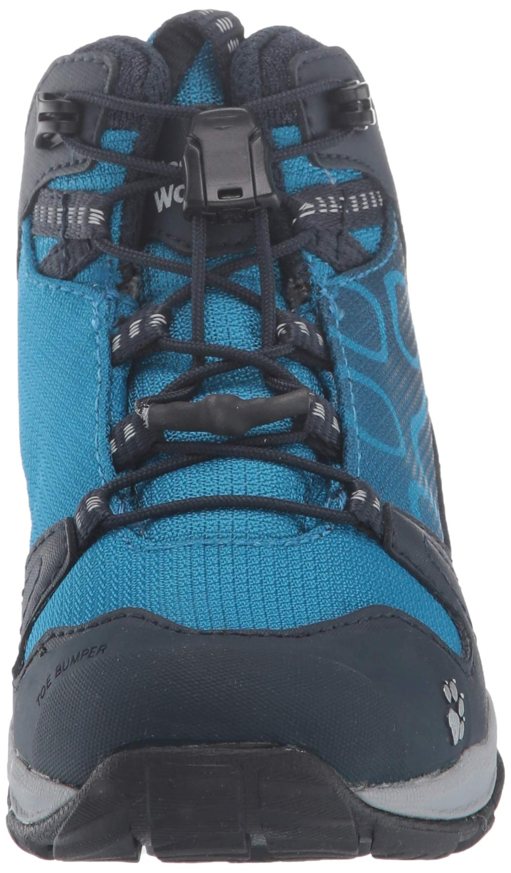 Jack Wolfskin Boys Akka Texapore Mid B Wasserdicht High Rise Hiking Shoes, One Size 4