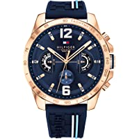 Tommy Hilfiger Unisex Multi dial Quartz Watch with Silicone Strap 1791474