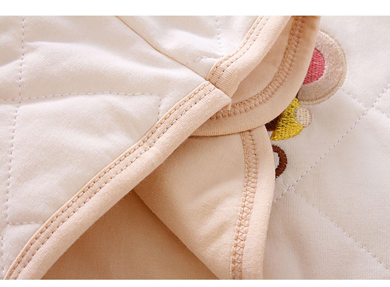 ThreeH Chaqueta de bebé Caliente Chaleco de Invierno de algodón BR12 5