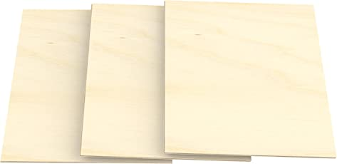 AUPROTEC 3x A3 Sperrholz Platten Birke 3mm Multiplexplatten (297 Mm X 420  Mm)