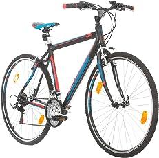 BIKE SPORT LIVE ACTIVE Trekkingfahrrad Cross Fahrrad Herren 28 Zoll Bikesport Route Aluminium Rahmen, Shimano 21 Gang