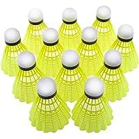 comfyindia Plastic Badminton Shuttlecock Nylon Pack of 10