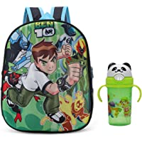 Tinytot School Bag School Backpack for Small Kids Nursery Bag (Age 3-5 Years) for Boys (10 L) with Water Bottle