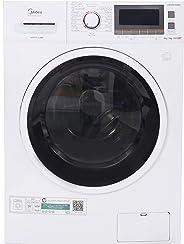 Midea 8Kg Washer & 6Kg Dryer, 1400 RPM Washer Dryer, White - MFC80DU1401