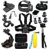 EDOSE Accessories Kit for AKASO EK5000 EK7000 4K WiFi Action Camera Gopro Hero 8 7 6 5/Session 5/Hero 4/3+/3/2/1 Crosstour/ V