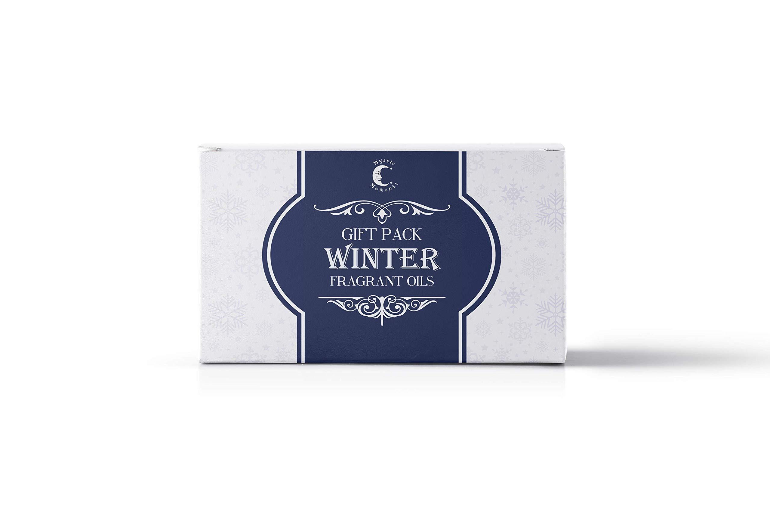 Mystic Moments | Fragrant Oil Starter Pack - Winter Oils - 5 x 10ml